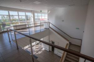 K1 iparcsarnok lépcsőház