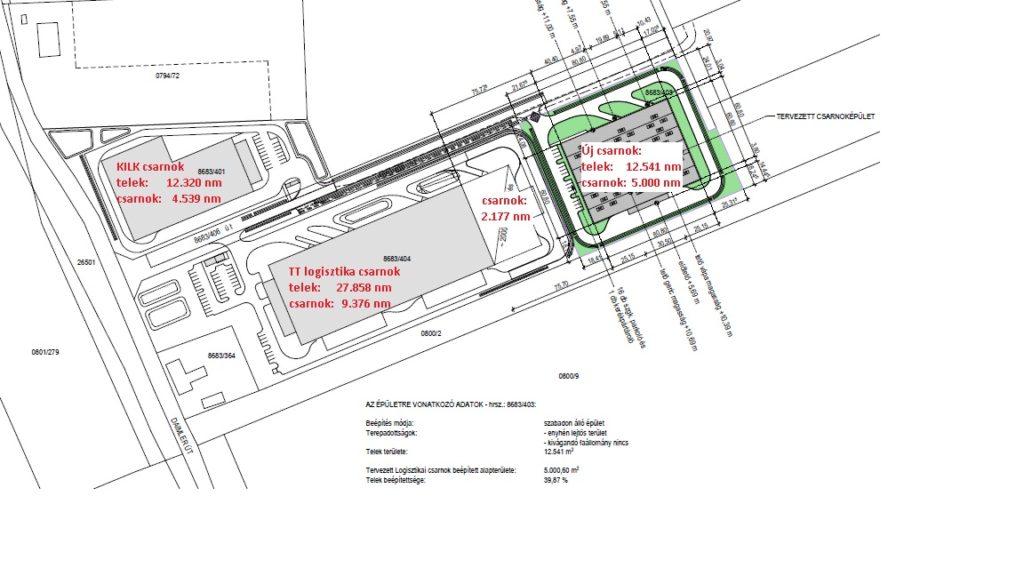 K1 Industriehalle Lageplan - Anzumietende Flächen